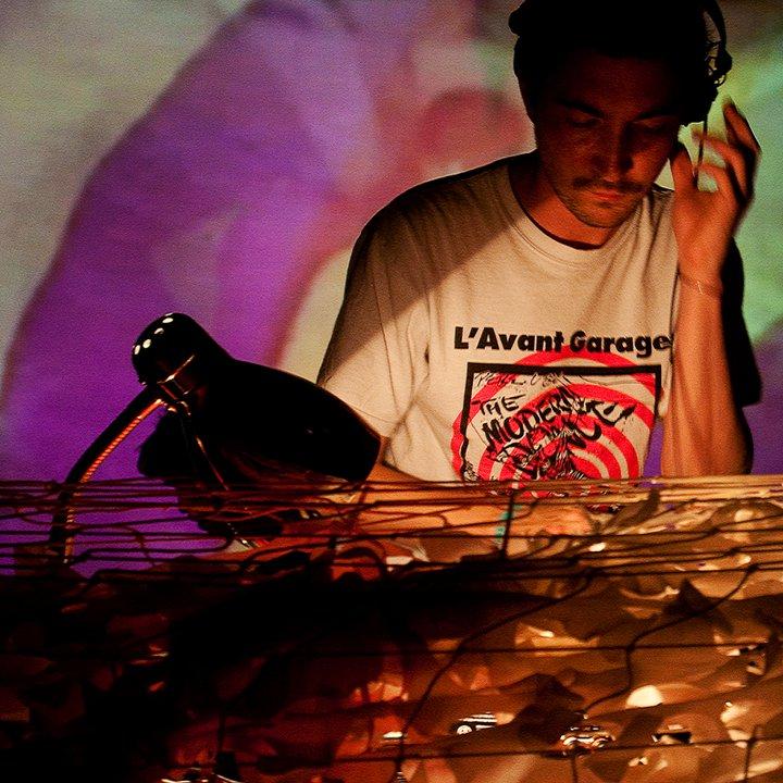 DJ October DJing