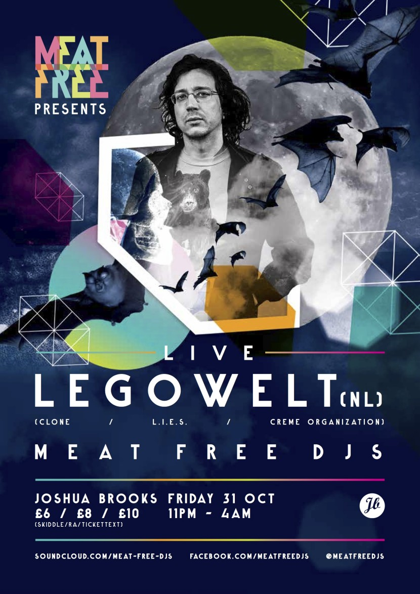 Legowelt Live in Joshua Brooks