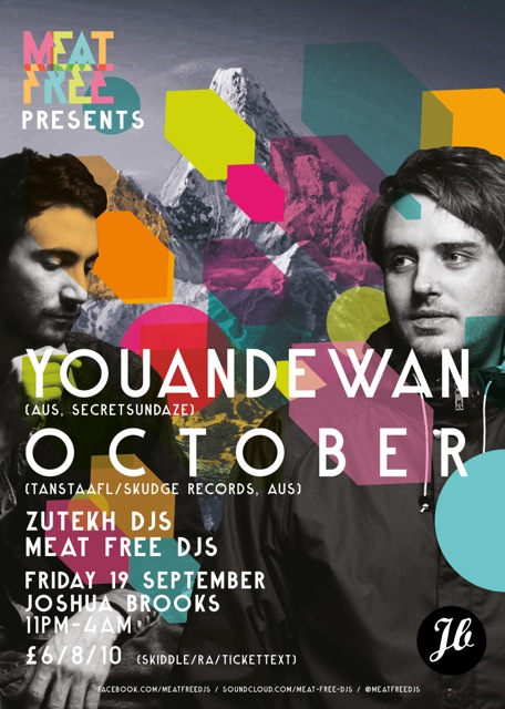 Youandewan and DJ October play Joshua Brooks