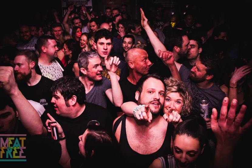 Ben Sims crowd