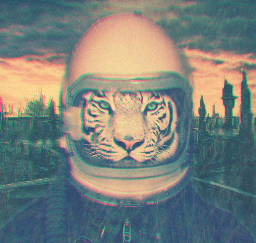 Xosar graphic design tiger