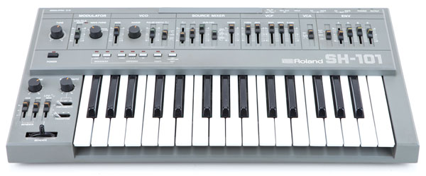 Roland SH101 synth