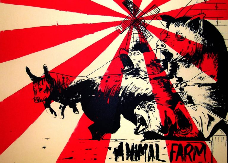a look at views on stalinism expressed in animal farm by george orwell