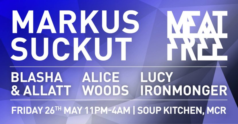 Marcus Suckut soup kitchen meat free