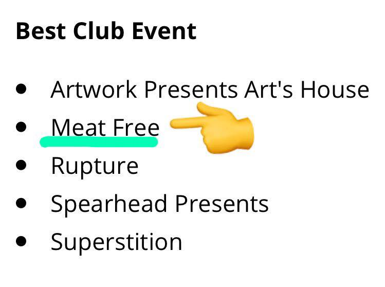 vote meat free dj mag