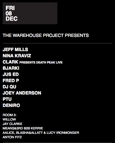 meat free warehouse project