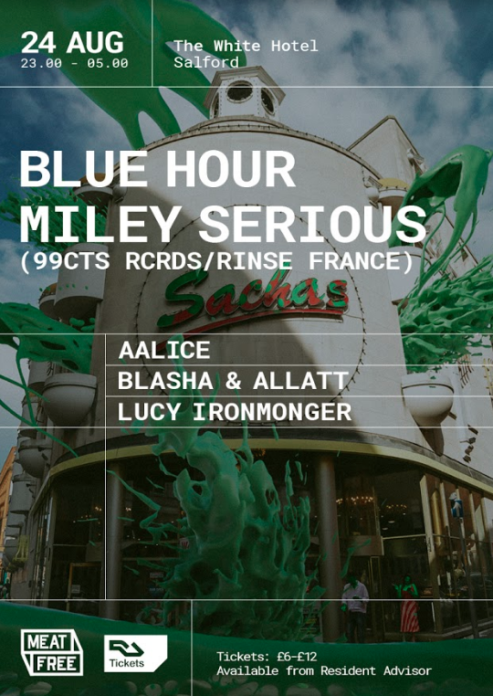 Blue Hour Miley Serious Meat Free
