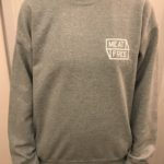 Meat Free WoF Front Grey Jumper