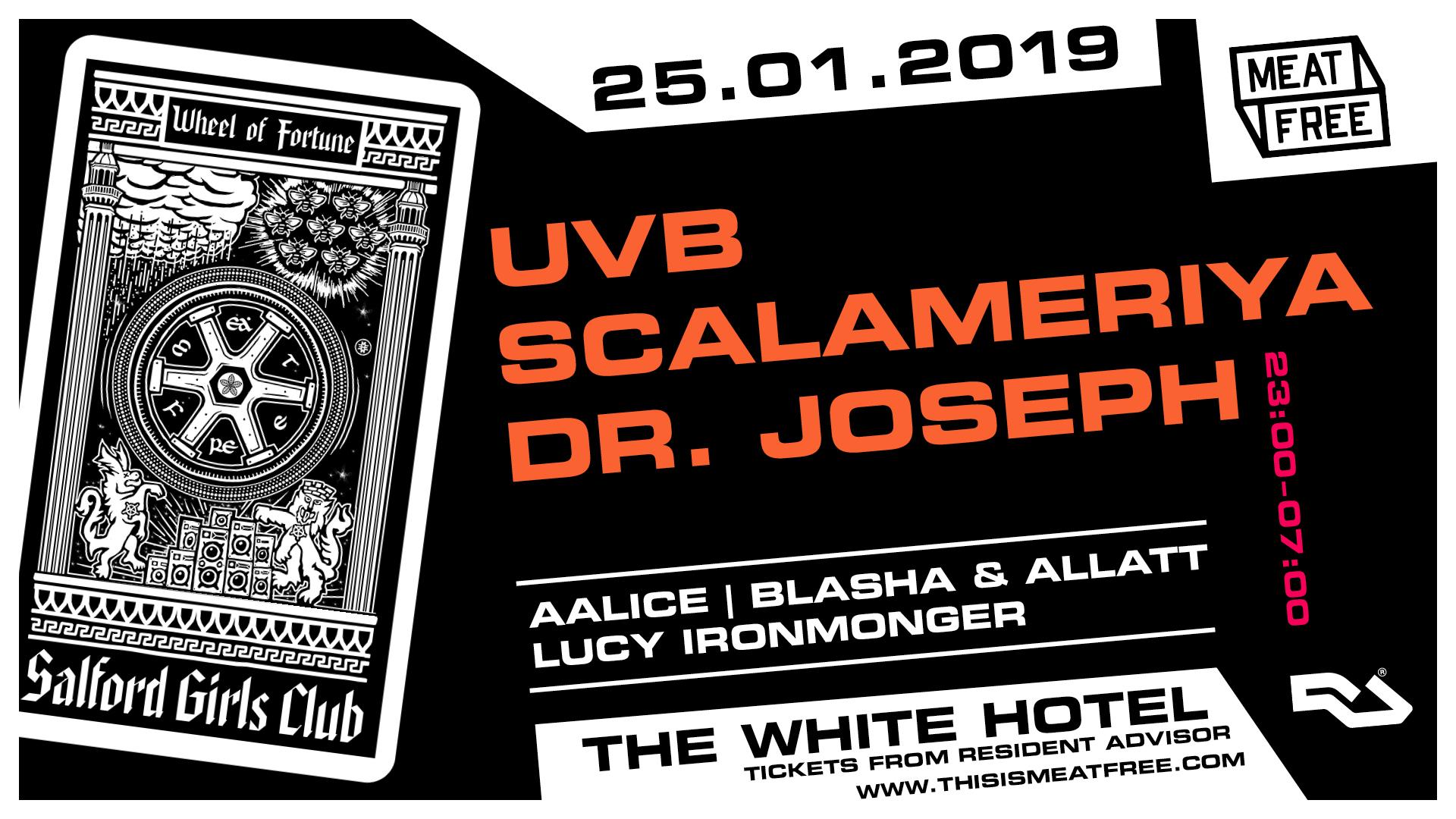 25.01.19: UVB, Scalameriya & Dr Joseph