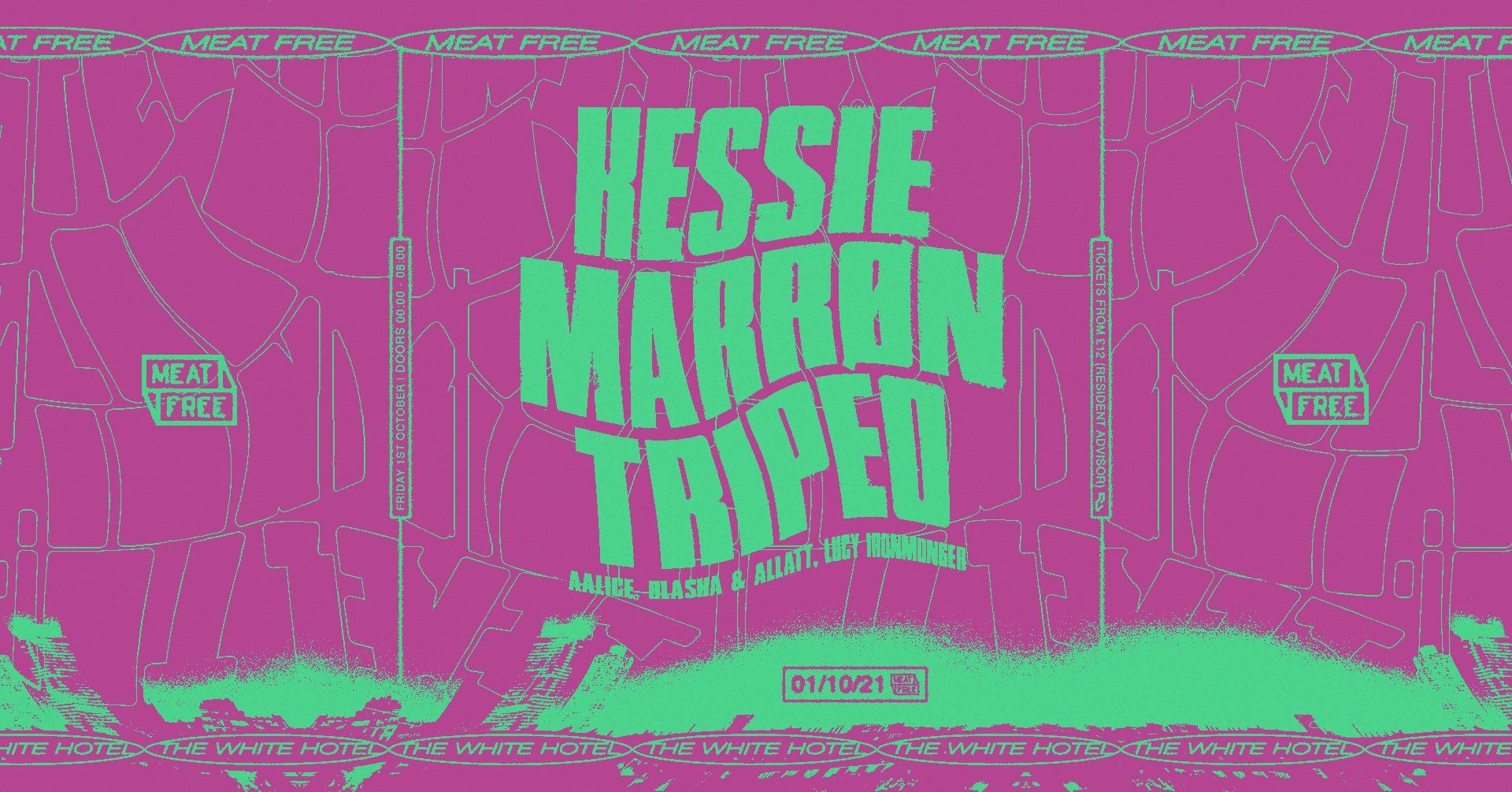 Kessie Marron Tripeo Meat Free